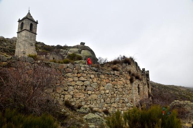 Monasterio de Nuestra Señora del Risco. Ruinas.