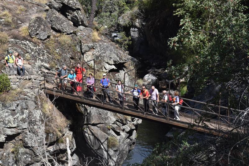 Puente Pozo Quirol sobre el río El Arenal
